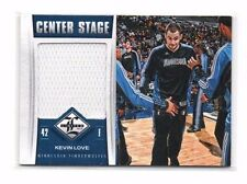 Kevin Love 2012-13 Limited, Center Stage, (Materials),/199!!!
