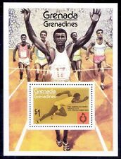 Panamerican games, Athletics, Sports Grenada Gre. 1975 MNH SS - X3