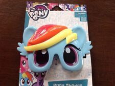 My Little Pony Rainbow Dash Mask Sunglasses Kids-100% UV Protection, Shatter Res