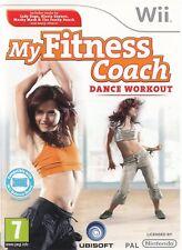 My fitness coach dance workout (Ubisoft) nouveau Nintendo Wii game pal
