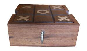 Syringe Wooden Tic Tac Toe Solitaire Game FREE ENGRAVING 517