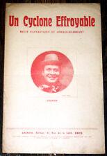 un cyclone effroyable récit fantastique et abracadabrant 1920 Dranem