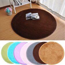 40*40cm Soft Round Memory Foam Floor Mat Bathroom Absorbent Shower Rug Carpet