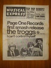 NME #1029 1966 SEP 30 TROGGS STONES SCOTT WALKER FAME