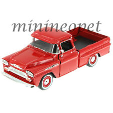 MOTORMAX 79311 1958 CHEVROLET APACHE FLEETSIDE PICK UP TRUCK 1/24 RED