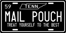 Mail Pouch Tobacco 1959 Tennessee Vintage Nostalgic License Plate