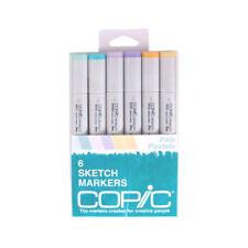 Copic Sketch Marker 6 Color Set Pale Pastels