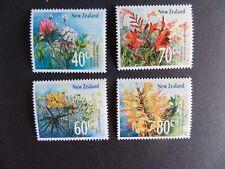 New Zealand 1989 Wild Flowers SG1497/1500 MNH UM unmounted mint