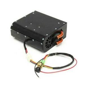 12V Universal Copper Underdash Compact Air Heater Heat 3 Speed Switch Car  R W
