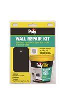 Poly Wall Repair Kit - Self-adhesive Wall Patch, Filling Blade, Sandpaper