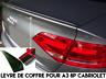 LAME COFFRE SPOILER BECQUET LEVRE pour AUDI A3 8P CABRIOLET 08-2013 TDI TFSI TSI