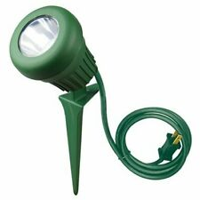 Color Blanco Meister 7490400 7490400-Foco LED 30 W, 2400 l/úmenes, 2,4 m, tr/ípode Ajustable y Cable Enrollable, IP65, protecci/ón contra chorros de Agua