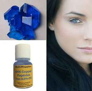 Ahk copper peptide Pepetide solution Unisex Hair Growth Copper Tripeptides DIY 7