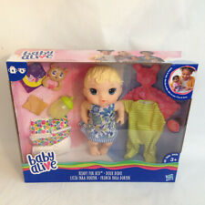 """Hasbro 11"""" Baby Alive Ready for Bed with Extra Outfits and Accessories"""