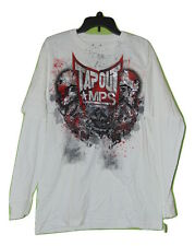 TAPOUT WHITE THERMAL SLEEVE T-SHIRT SIZE LARGE NWT