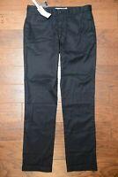Lacoste Men's Regular Fit Black Cotton Chino Casual Pants W32 L34 EU 40