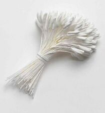 Large white lily stamens x 132 - sugarcraft flowers NEXT DAY DESPATCH