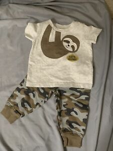 baby boy clothes 3-6 months CHILD OF MINE BY CARTERS. 2 Piece Set SHIRT AND PANT