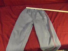 Fila Sweatpants Size: 14/16 Gray/Red ~ NM 13778