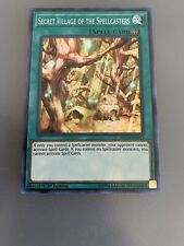 INCH-EN043 SECRET VILLAGE OF THE SPELLCASTERS Yu-Gi-Oh 3x Cards Playset