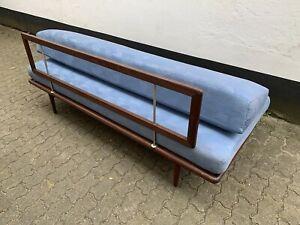 Minerva Sofa Couch 60er 70er Danish Midcentury Hvidt Molgaard-Nielsen Vintage