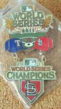 St. Louis Cardinals 2011 World Series Champions Pin