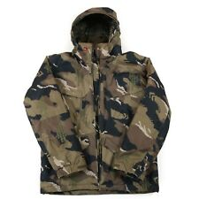 QUIKSILVER Hooded Waterproof Camo Parka Jacket | Insulated Vintage Camouflage