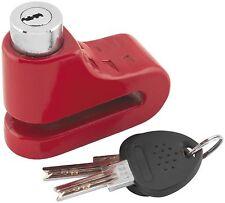 Bully Locks DISC LOCK 5.5MM RED 1581S-RD