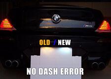 For BMW M6/E63/645i/650i 6 / 7 Series LED License Plate Bulb White Light