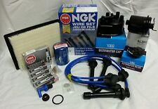 **Cap-Rotor-NGK Wires-Spark Plug-Filter Kit Honda Civic HX 1.6L