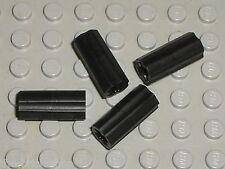 4 x LEGO TECHNIC black Axle Joiner ref 6538c / Set 8081 8109 10196 7674 8069 ...