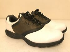 Men's Footjoy GreenJoys Golf Shoes Soft Spikes 45516 Saddle Oxford Size 13 M