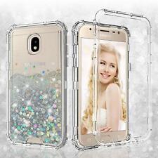 Samsung Galaxy J7 Crown Heavy Duty Shockproof Three Layer Liquid Glitter Case