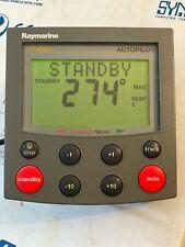Raymarine ST4000+ Autopilot Control Head Autohelm E12008 TESTED!! RARE.