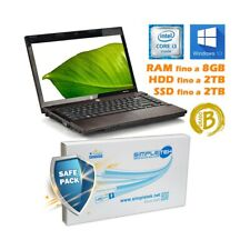 "PC COMPUTER NOTEBOOK PORTATILE HP 4420S I3 2.13GHZ 14"" WEBCAM WINDOWS 10 PRO-"