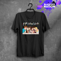 Friends Series TV Show T Shirt Men Printed Shirt Clothing 90s Tee Grunge Tshirt