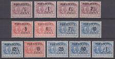 P31-43 Portzegels 1907 overdruk De Ruyter, postfris (MNH)