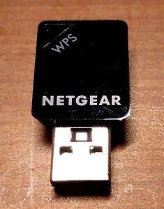 NETGEAR AC600 A6100 Wireless N AC USB Network Adapter - Dual Band 5Ghz / 2.4 GHz