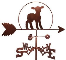Lamb Weathervane With Garden Mounting