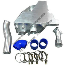 Cold Air Intake Pipe Airbox Kit For RX7 RX-7 FDStock Twin Turbo Blue 92-02