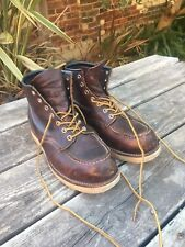 Red Wing Boots size 8 used.