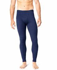 $72 Alfani Men/'S Black Thermal Base Layer Long Johns Pants Leggings Underwear L