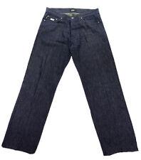 Gianfranco Ferre Designer Stright Leg Dark Wash Jeans Pants 34 /48 Made in Italy
