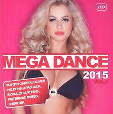 MEGA DANCE 2015 VOL.1 2 CD (ZHU., Martin Garrix, Afrojack, Paloma Faith) NEU