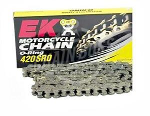EK Chains 420 x 132 Links SRO Series Oring Sealed Natural Drive Chain