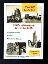 Visite Historique De La Rochelle - Fascicule + Plan