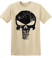 Camiseta Hombre Militar Castigador tshirt DC Punisher camisa de gym gimnasio