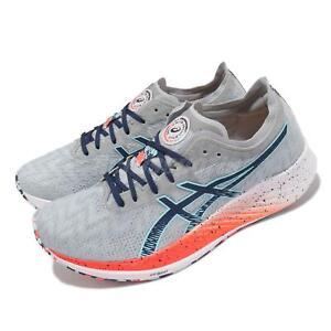 Asics Magic Speed Grey Blue Orange White Men Running Marathon Shoes 1011B326-960