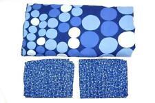 Ikea SmÖRboll Wilj Full Duvet Cover With 2 Matching Pillowcases Blue Polka Dot