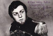 GIAN PIERO MASTROMEI opera baritone signed photo in La Forza del Destino